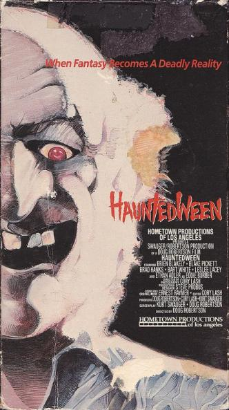 Hauntedween VHScover