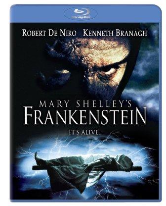 mary shelley's frankenstein robert de niro kenneth branagh blu-ray