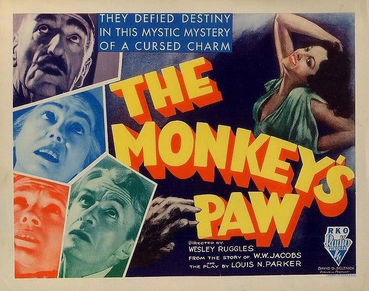 The Monkey's Paw - short story - MOVIES and MANIA