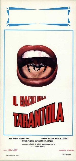 Kiss of the Tarantula Italian locandina poster