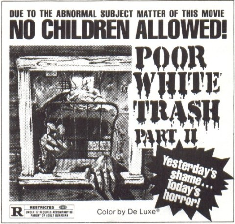poor white trash part ii ad mat