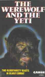 werewolf and the yeti