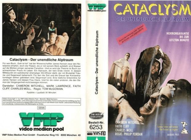 Cataclysm-German-VHS