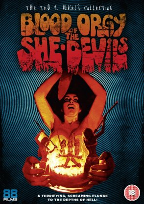 blood orgy of the she-devils ted v. mikels 88 films dvd cover