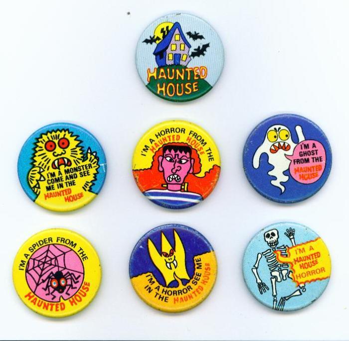 Haunted House badges