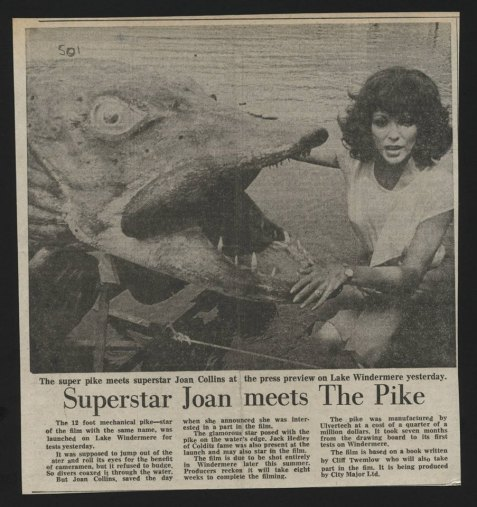 Joan Collins and The Pike