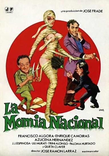 momia nacional poster