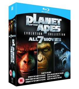 planet of the apes evolution collection