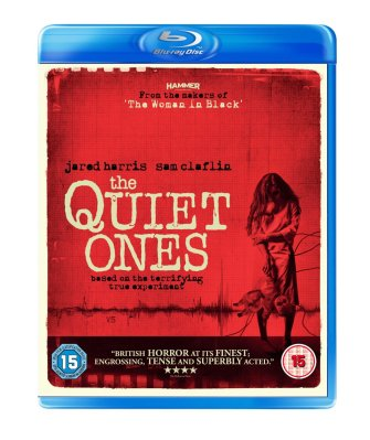 quiet ones lionsgate blu-ray