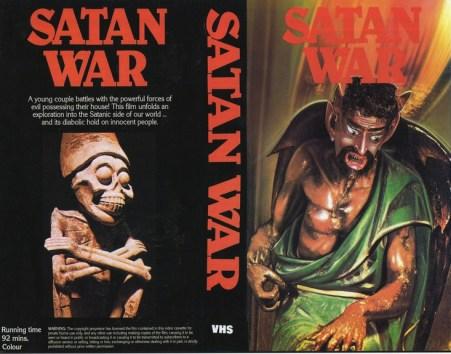 satanwar satan war VHS