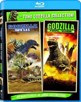 godzilla tokyo S.O.S. Godzilla final wars sony blu ray