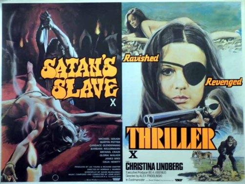 satans slave + thriller tom chantrell