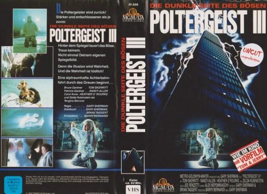 poltergeist III german vhs