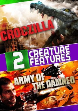 army of the damned + croczilla dvd