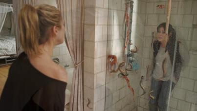 blood lake shower scene lampreys