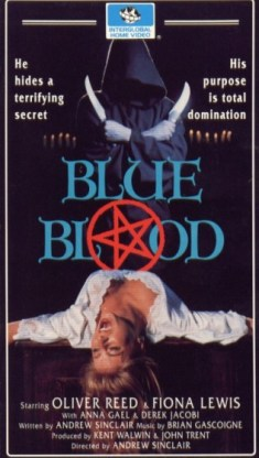 Blue Blood VHS cover