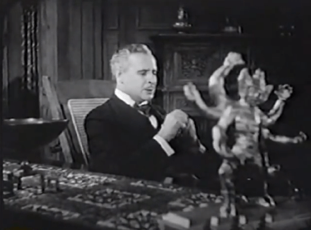 House of Mystery 1934 Clay Clement with Kali statue