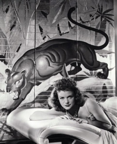 Cat People 1942 Simone Simon promo shot