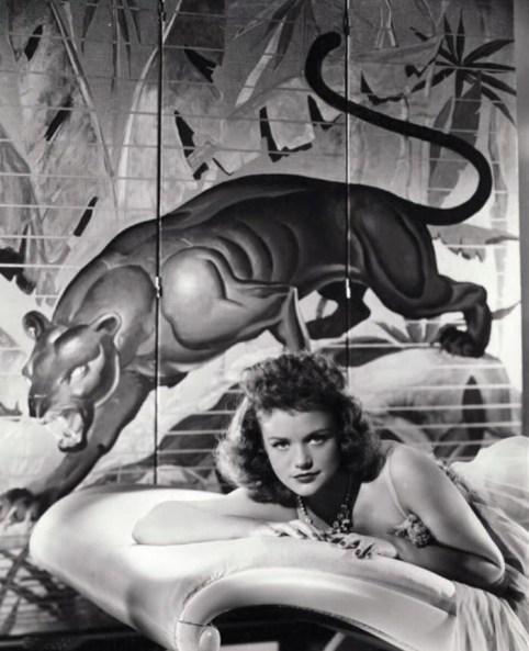 Cat People 1942 Simone Simon promo shot