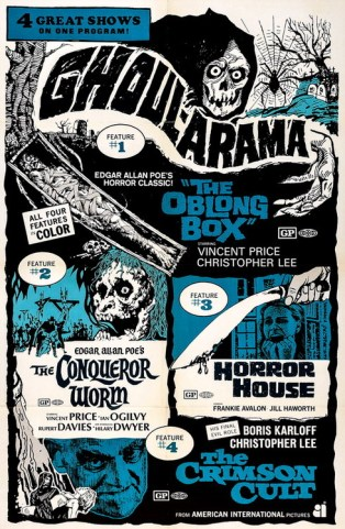 Ghoul-arama Oblong Box + Conquerer Worm + Horror House + Crimson Cult