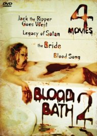Jack the Ripper Goes West + Legacy of Satan + The Bride + Blood Song Blood Bath 2 DVD