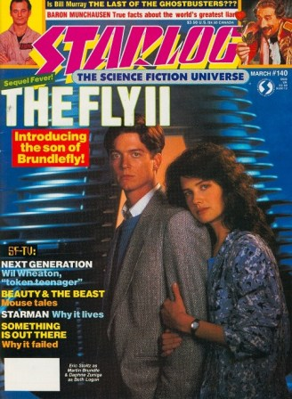 Starlog cover Fly II