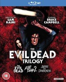 Evil Dead trilogy Studio Canal Blu-ray