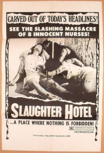 Slaughter Hotel One Sheet Hallmark Releasing