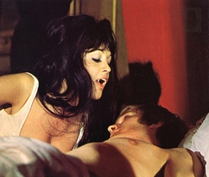 Anouska Hempel Christopher Matthews. Scars of Dracula. Hammer Films, 1970.