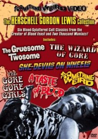 Herschell Gordon Lewis Collection Something Weird DVD