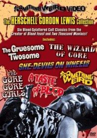 Herschell Gordon Lewis Collection Something Weird DVD