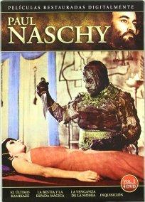 Paul Naschy El Ultimo Kamikaze : La Bestia y la Espada Magica : La Venganza de la Momia : Inquisicion DVD