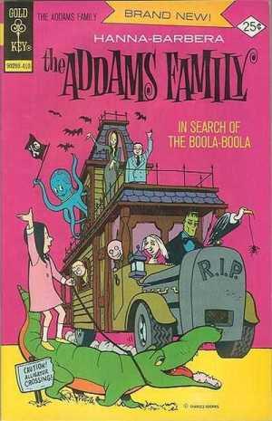 Addams-Family-Hanna-Barbera-Gold-Key-comic-October-1974