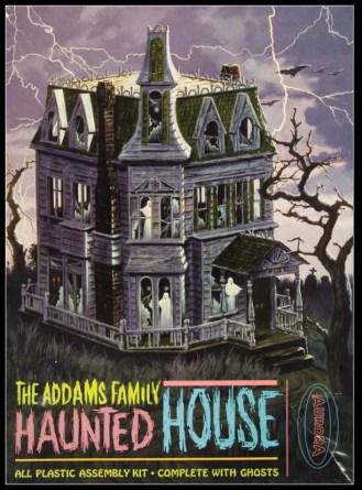 Addams-Family-Haunted-House-Aurora-model-kit