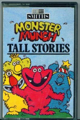 Monster Munch tall Stories tape