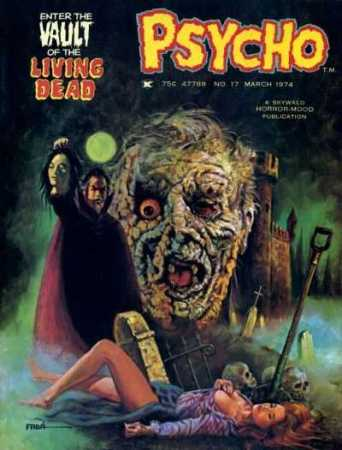 Psycho-horror-comic-magazine-Skywald-March-1974