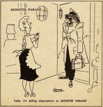 Monster Parade salesman