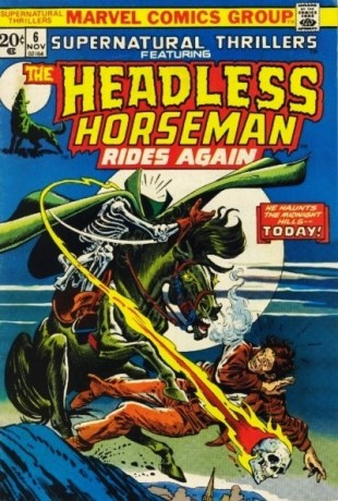 Supernatural-Thrillers-issue-6-The Headless-Horseman-Rides-Again-Marvel-Comics