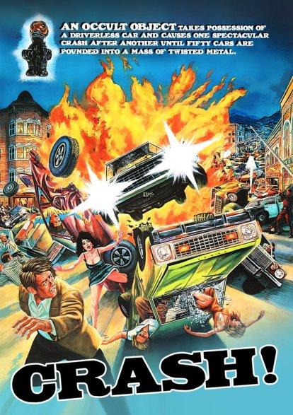 Crash!-1977-Charles-Band-occult-car-poster