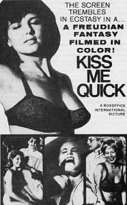 kiss me quick ad mat