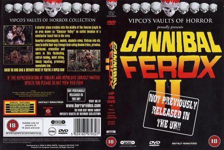 1985 - Cannibal Ferox 2 (VHS)