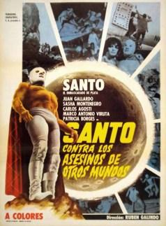 SANTO CONTRA LOS ASESINOS DE OTROS MUNDOS (1973)