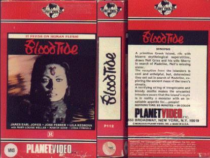 1982 - Blood Tide (VHS)
