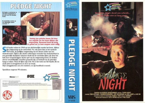 pledge night dutch vhs front & back2