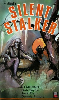 Silent-Stalker-Polish-VHS-cover-for-Creature-from-Black-Lake