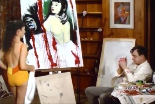 Color-Me-Blood-Red-1964-frustrated-artist-bikini-model