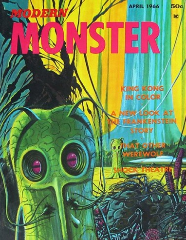 Modern-Monster-magazine-1-April-1966