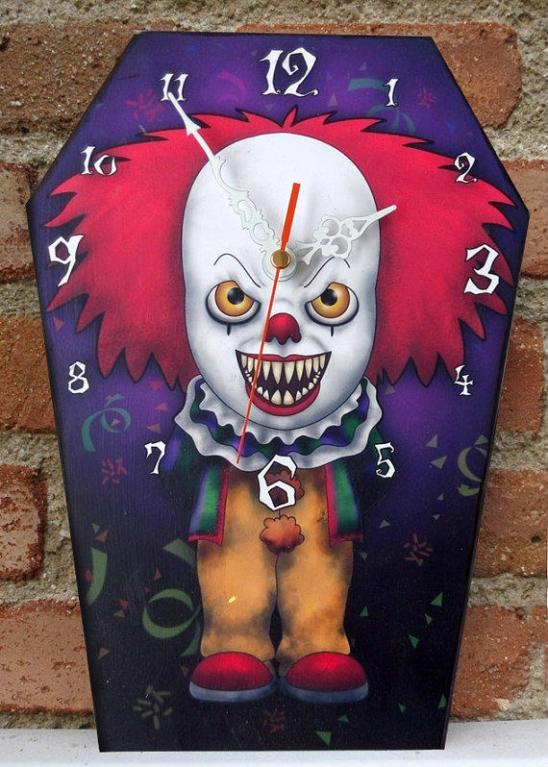 horror-clock-pennywise-it