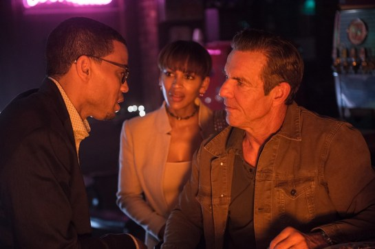 Michael Ealy, Meagan Good and Dennis Quaid in Screen Gems' THE INTRUDER