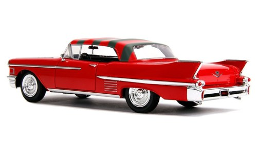 MOVIES & MANIA | Freddy Krueger and model 1958 Cadillac from 'A